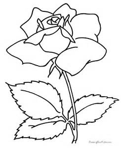 Flower Coloring Pages sketch template