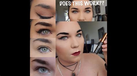 tattoo eyebrows maybelline review peel off brows does this really work maybelline tattoo