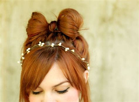 diy hairstyles bow love my hairstyle how to the hair bow hairstyle