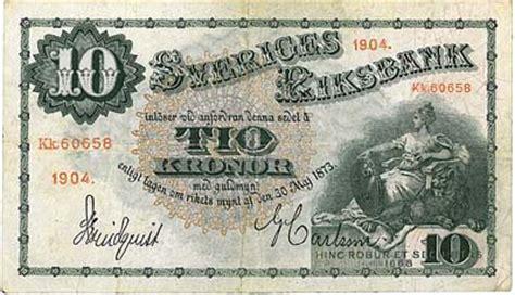 10 kronor mat svenska sedlar