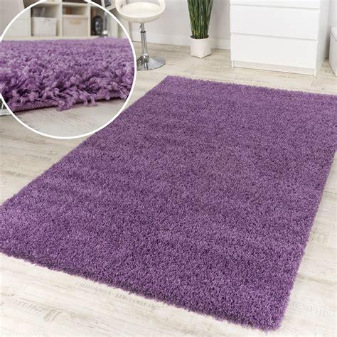lila teppich shaggy lila hochflor langflor teppich hochflor teppich