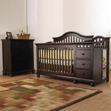 Sorelle Cape Cod Crib N Changer With Toddler Rail by Sorelle Cape Cod 2 Nursery Set Crib And Changer With Toddler Rail And 4 Drawer Dresser