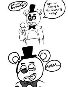 Free fnaf freddy coloring pages