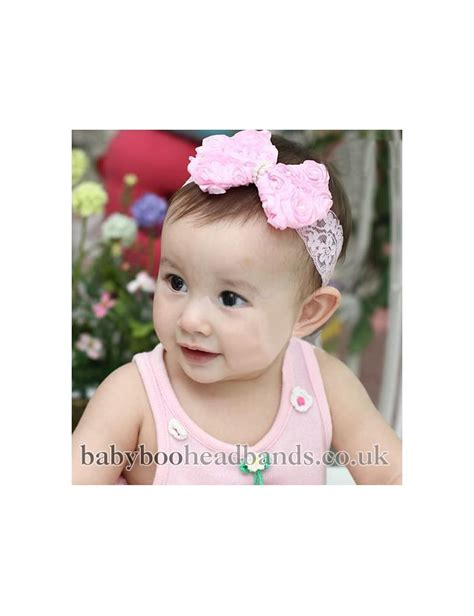 baby headbands baby headband uk big chiffon and tulle bow baby headband