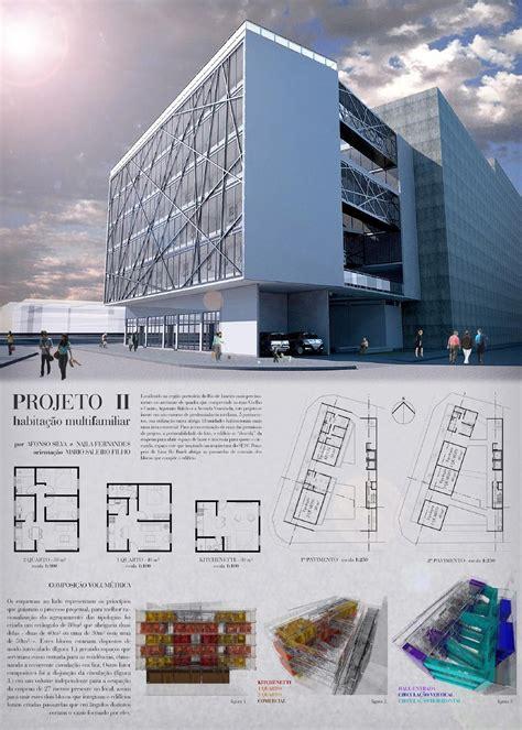 layout de um banner habita 231 227 o multifamiliar banner projeto de arquitetura