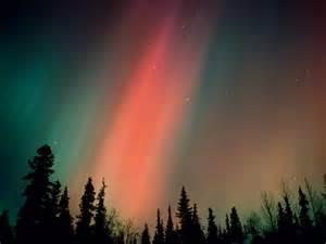 The northern lights is kind of aurora borealis polar aurorae