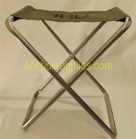army canvas folding stool