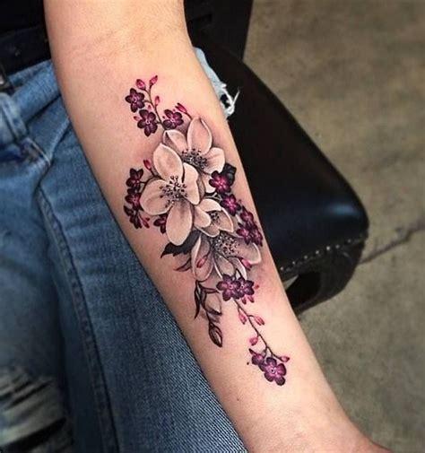 flower tattoo rework appealing girl 3d flower tattoo new women tattoos august