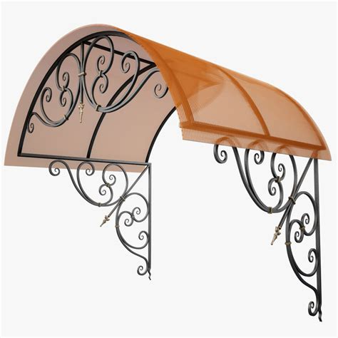 Wrought Iron Awning by 3d Wrought Iron Awning Model