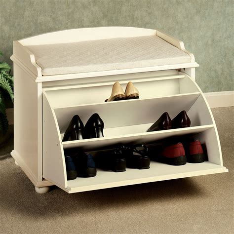 bench and shoe storage amelia pale yellow shoe storage bench