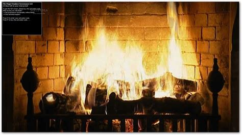 the magic fireplace screensaver download