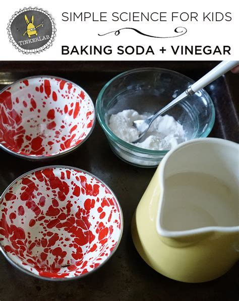 Kitchen Experiments With Vinegar Science Experiments Vinegar And Baking Soda