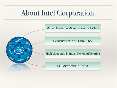 Mba At Intel In Usa by Sales Distribution Management Study Of Intel