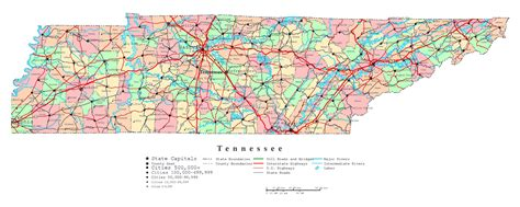 map of tennessee with cities tennessee road map with cities car interior design