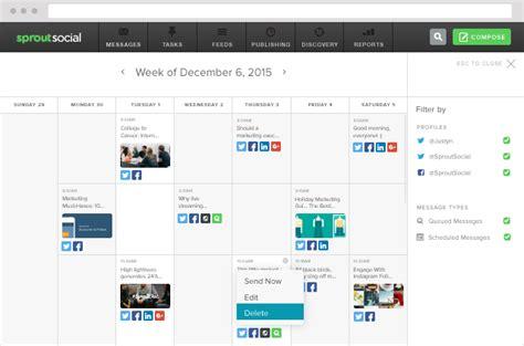 Comparison Of Calendar Software Social Media Management Software Comparison Hootsuite V