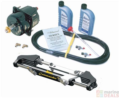 hydrive hydraulic boat steering buy hydrive bosunkit hydraulic steering system up to