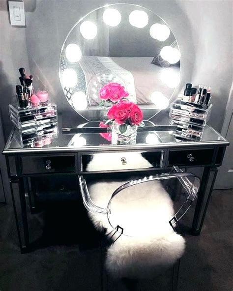desk mirror with lights desk mirror with lights makeup table bedroom