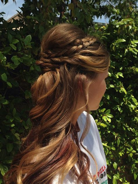 homecoming hairstyles off to the side 15 beautiful half up half down braid pretty designs