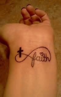 Infinity Wrist Tattoos Faith Infinity Wrist Tatuajes