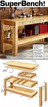 workshop work bench best 25 workbenches ideas on garage tool