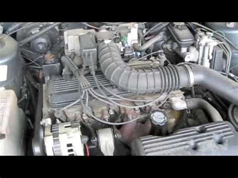 small engine maintenance and repair 1989 buick century on board diagnostic system new dealership updates 1994 oldsmobile cutlass ciera youtube