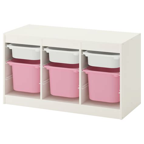children s storage units combinations ikea trofast storage combination with boxes white pink 99x56x44