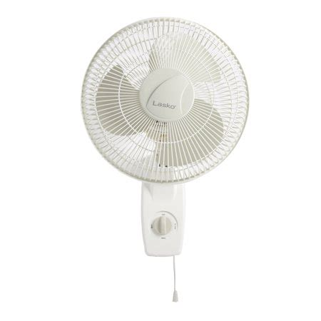 lasko 12 wall mount fan lasko 12 quot oscillating wall mount 3 speed fan model 3012