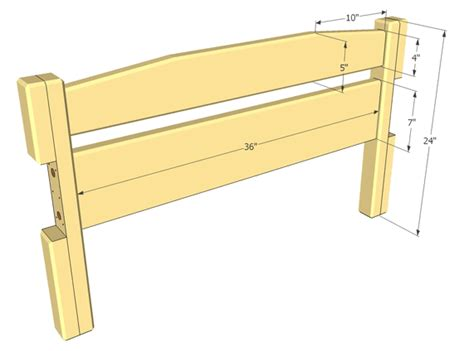 twin bed headboard plans diy twin bed headboard and footboard plans plans free
