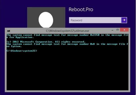 windows 8 reset password command prompt how to reset forgotten lenovo thinkpad edge e431 password