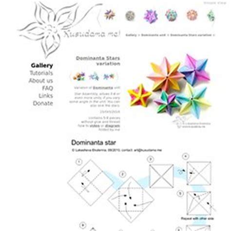 Pdf Origami - pdf origami tutorial origami handmade