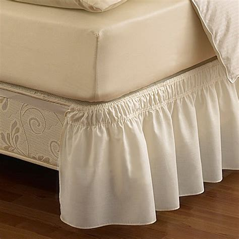 bedskirt for tempurpedic adjustable bed ruffled solid adjustable bed skirt bed bath beyond