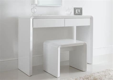 ice high gloss dressing table  white dressing