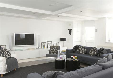 grey family room ideas gray contemporary modern family room living room design