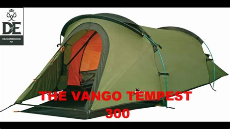 Light Weight Tents by Vango Tempest 300 3 Person Hiking Cing Tent Compact
