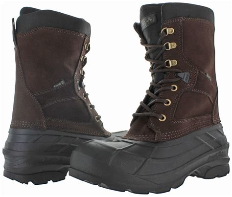 kamik s snow boots kamik nationwide s waterproof duck snow boots leather