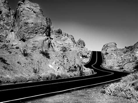 wallpaper black road black and white road wallpaper free wallpaper wallpaperlepi