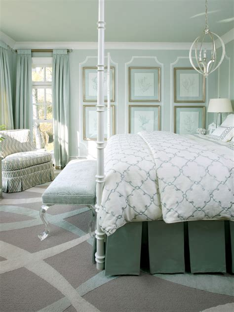 lucite bench transitional bedroom sherwin williams