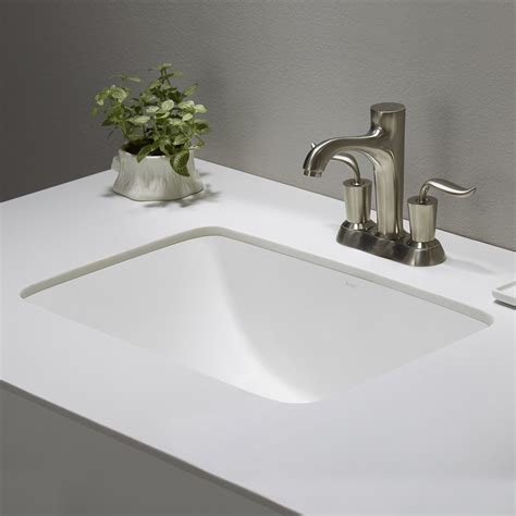 rectangular bathroom sink undermount ceramic sink kraususa com