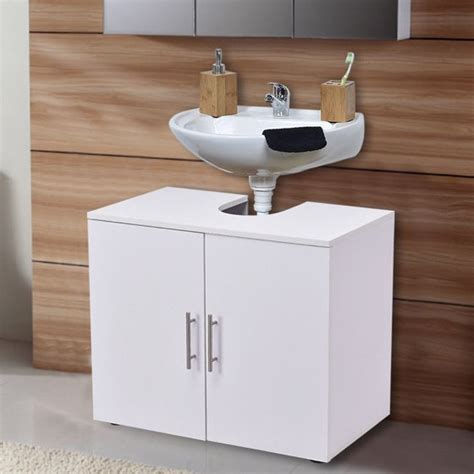 space saver vanity cabinet costway non pedestal sink bathroom storage vanity