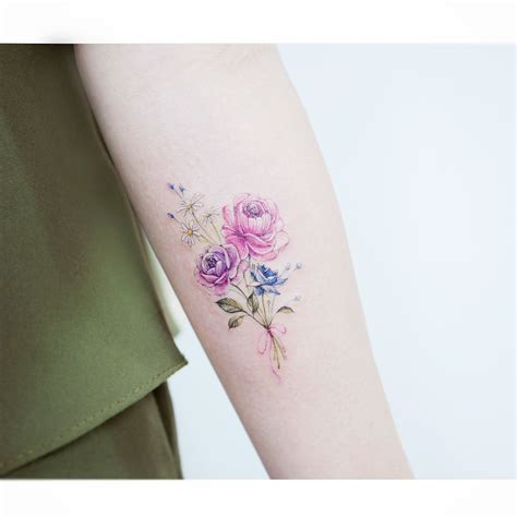 watercolor tattoo korea watercolor tattoos korean style tats