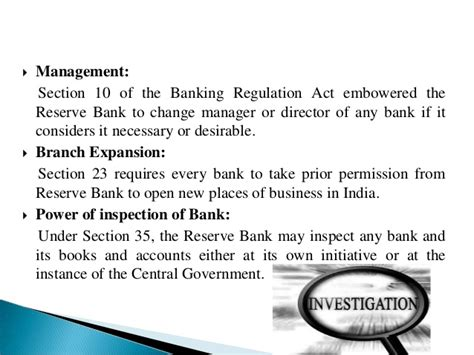 section 35 banking act understanding the reserve bank of india