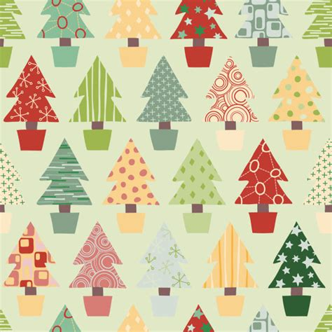christmas pattern eps free different christmas elements pattern vector 04 vector