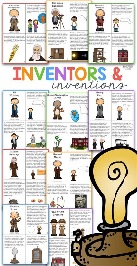 biography for kids scientists and inventors ducksters famous inventors and inventions passages for stem