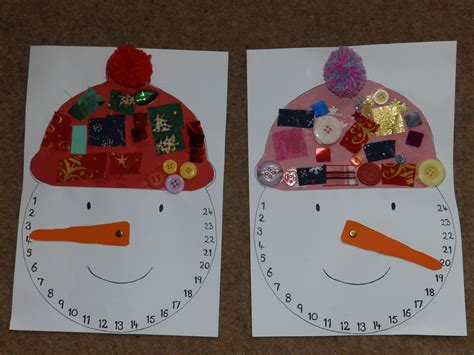 snowman advent calendar craftingcherubsblog