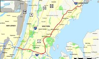 us map of interstate 95 interstate 95 in new york