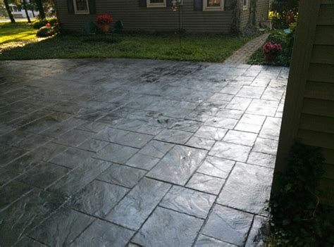 columbus decorative concrete sted concrete patios