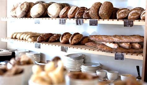 Shelf Of Bread by Olaf S True European Artisan Bread Bakery Cafe In Mt