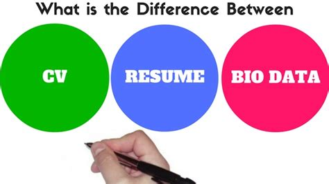 fancy difference between cv and resume and biodata sketch