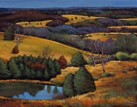 ozark afternoon by johnathan harris giclee print