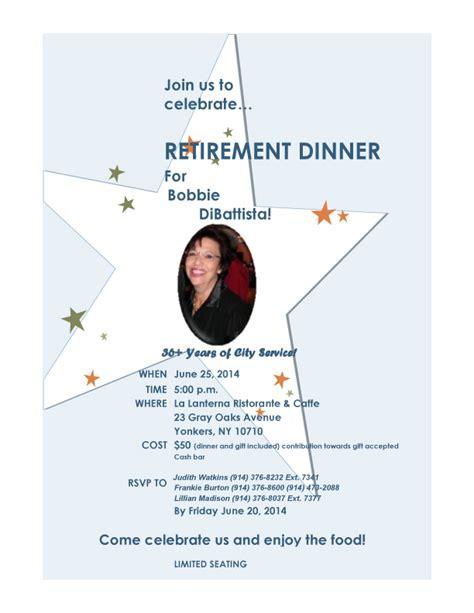 Bobbie DiBattista's Retirement Dinner   June 25, 2014   Yonkers Tribune.